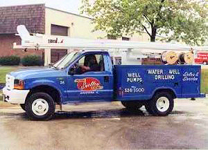 Water Well Service Truck
